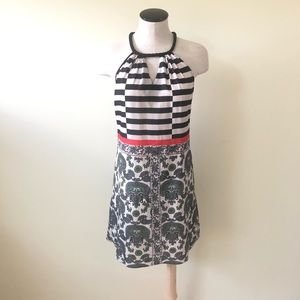 CLOVER CANYON Printed Shift Mini Dress